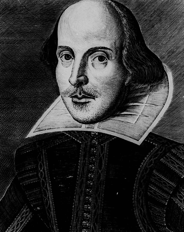 Retrato de William Shakespeare, maior dramaturgo de língua inglesa / Associated Press