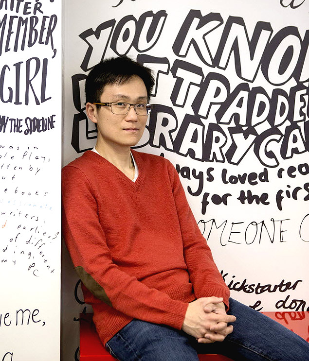 Allen Lau, presidente-executivo do Wattpad (Foto: Chris Young/The New York Times)