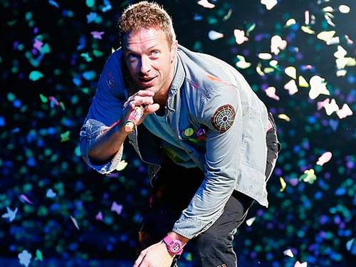 Crhis Martin, do Coldplay Reuters