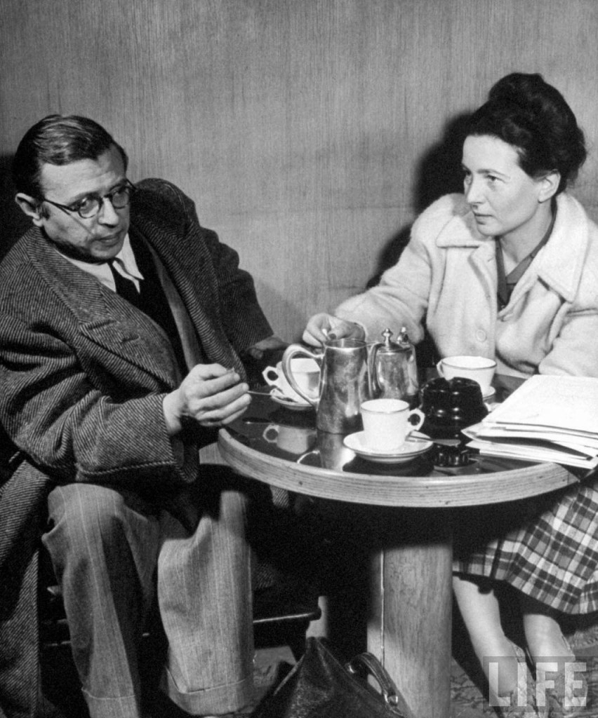 Jean-Paul Sartre e Simone de Beauvoir