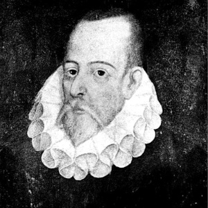 Retrato do escritor Miguel de Cervantes
