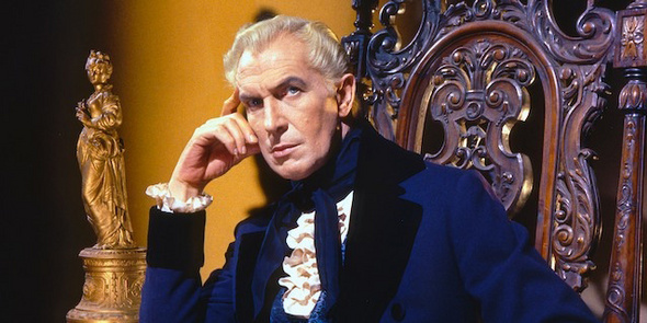Vincent Price in House of Usher, 1960.