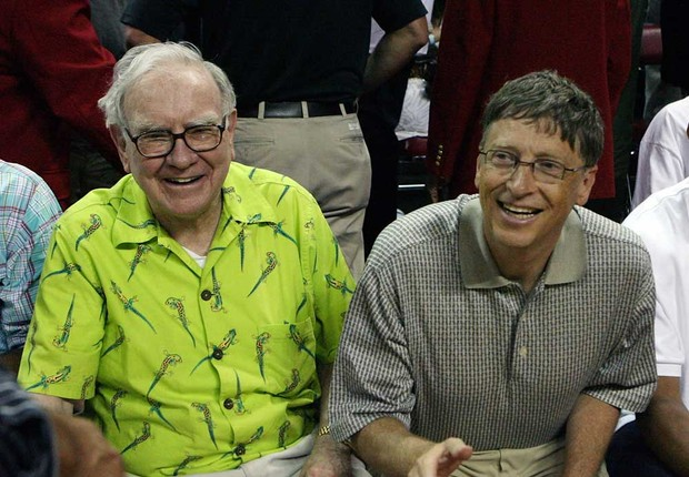 Warren Buffett e Bill Gates (Foto: Getty Images)