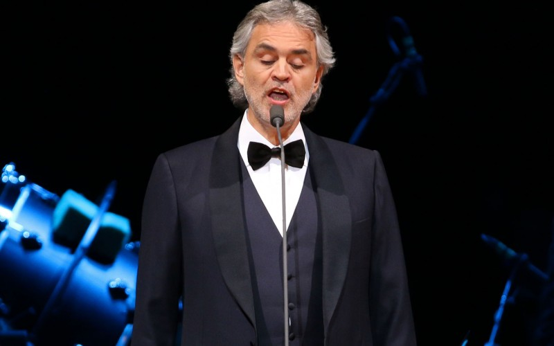 Andrea Bocelli will perform for the Pope in September (Greg Allen/Invision/AP