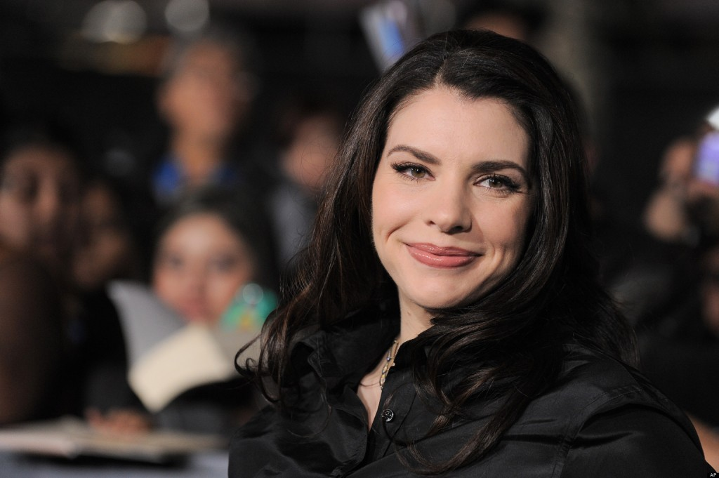 "Stephenie Meyer attends the world premiere of ""The Twilight Saga: Breaking Dawn Part II"" at the Nokia Theatre on Monday, Nov. 12, 2012, in Los Angeles. (Photo by Jordan Strauss/Invision/AP)"
